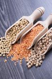 Beans and Seeds Stock Photography