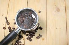 Beans smoke in socket Stock Photos