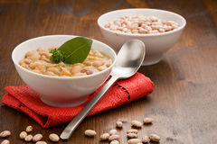 Beans soup Royalty Free Stock Images