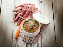 Beans soup Royalty Free Stock Image