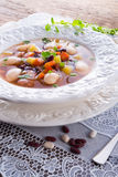 Beans soup Royalty Free Stock Photos