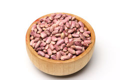 Beans in white 6 Stock Image