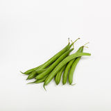 Beans on white background. Shot in studio royalty free stock photos