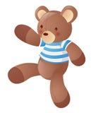 Bear. Cartoon bear isolate on a white background Royalty Free Stock Photography