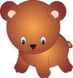 Bear. Illustration, isolated on a white background Stock Photo