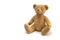 Bear. Teddy bear against white background royalty free stock photo
