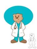 Bear医生 库存照片