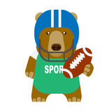 Bear american football Stock Photos