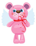 Bear angel Stock Photos