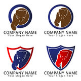 Bear Angry Concept Logo Stock Photography