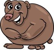 Bear animal cartoon illustration Royalty Free Stock Image