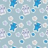bear animals seamless Pattern Royalty Free Stock Photos