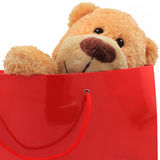 Bear as a gift Royalty Free Stock Photos