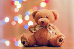Bear as a gift royalty free stock photography