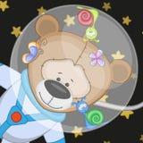 Bear astronaut Royalty Free Stock Image