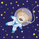Bear astronaut Stock Photos