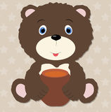 Bear baby Royalty Free Stock Photos