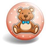 Bear badge Stock Photography