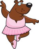 Bear Ballerina Royalty Free Stock Photo