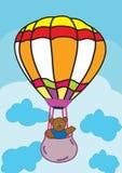 Bear and Balloon Royalty Free Stock Photography