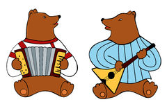 Bear Band Royalty Free Stock Photo