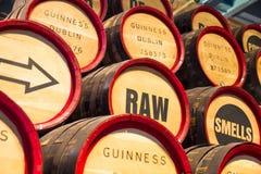 Bear Barrels inside in the Guinness Storehouse, Dublin Stock Photography