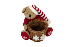 Bear Basket Stock Photo