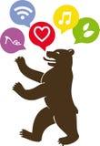 Bear berlin Royalty Free Stock Photos