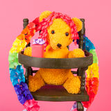 Bear birthday Royalty Free Stock Photo