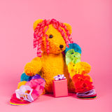 Bear birthday Royalty Free Stock Images