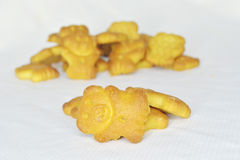 Bear biscuits Stock Photos