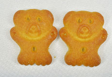 Bear biscuits Royalty Free Stock Images