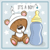 Bear boy Royalty Free Stock Images