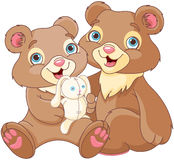 Bear brothers Stock Image
