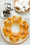 Bear buns Royalty Free Stock Images