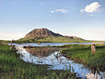 Bear Butte Royalty Free Stock Photography