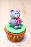 Bear cake Stock Image