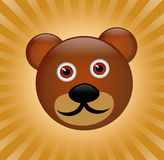 Bear cartoon Royalty Free Stock Images