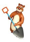Bear cartoon character Stock Photography