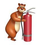 Bear cartoon character Royalty Free Stock Photo