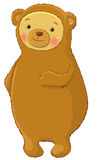 Bear cartoon character Royalty Free Stock Photography