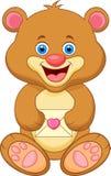 Bear cartoon holding envelope. Illustration of Bear cartoon holding envelope Stock Images