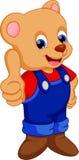 Bear cartoon Royalty Free Stock Photography
