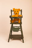 Bear in child seat Stock Photography