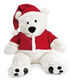 Bear with christmas hat Royalty Free Stock Photos