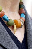 Bear Claw Necklace Stock Image