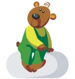 Bear color 03. Vector. Bear in color 03 vector illustration