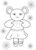 Bear coloring page Stock Photos
