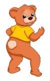 Bear dancer Royalty Free Stock Photos