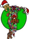 Bear doodle cartoon Stock Photo